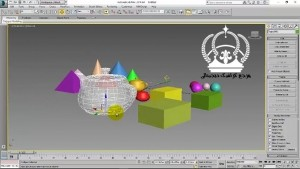ابزارهای نمایش در 3ds Max
